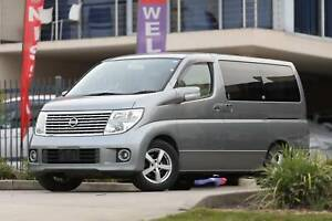 MY 2006 Nissan Elgrand 2.5L Only 52802Km English Unit GPS Bluetooth Wetherill Park Fairfield Area Preview