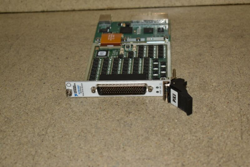 ^^ NATIONAL INSTRUMENTS NI PXI-2567 64-CHANNEL RELAY DRIVE MODULE CARD (AA)