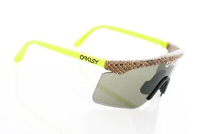 Oakley Eyeshade Gen 1 Snakeskin Neon Yellow & Blue w Grey Romeo C Six OTT Mars