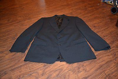 A21- Hardwick Clothes Pin Striped Sport Coat Size 46L