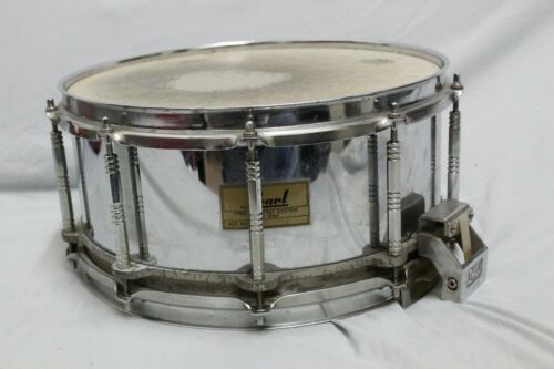 PEARL S-814D 14x6.5 Free Floating Steel Snare Drum