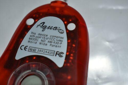 |^^ ORACLE AQUA MOUSE MODEL AM-930-P RED/WHITE (JQ…