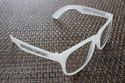 Southern Comfort Plastic Glow in the Dark Eye Glasses UV 400 QTY 5 Pairs NEW - Glow In The Dark Eye Glasses