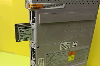 Avaya Partner Acs R8 509 Processor Wlarge Vm And Back Up Refurbished Warranty