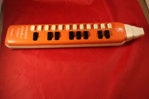 Collectible Hohner melodica Student made in Germany orange rare