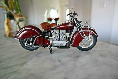 Vintage 1942 Indian 442 Motorcycle Diecast