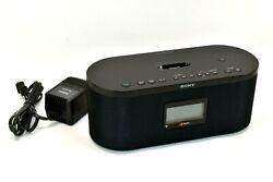 Sony FM/AM Digital Radio XDR-S10HDiP HD Alarm Clock 30 Pin iPod / iPhone Dock