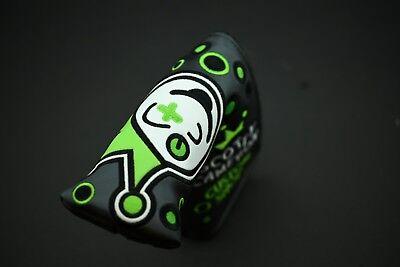 Lime Blade (Scotty Cameron Custom Shop Charcoal/Lime Blade Jackpot Johnny Putter)