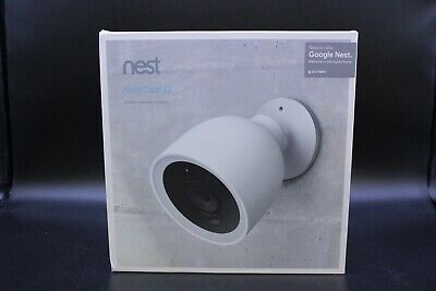 Nest NC4100US Wireless Outdoor Security Camera - White