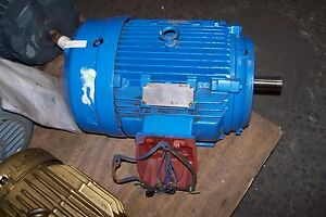 New siemens 10 hp electric motor 230 460 vac 1778 rpm 215t for 10 hp 3 phase electric motor