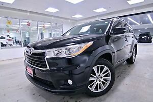 2016 Toyota Highlander AWD XLE,ONE OWNER,CLEAN CARPROOF,NON SMOK
