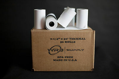 Wrb Supply Credit Card Receipt Paper For The Vx520 50rolls