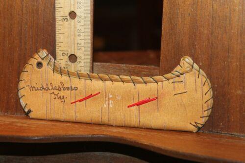 Antique Middlesboro Kentucky Canoe Souvenir