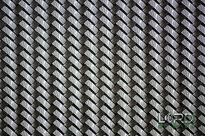 Hydrographic Hydrodipping Water Transfer Film Silver Carbon Fiber Lcf098a