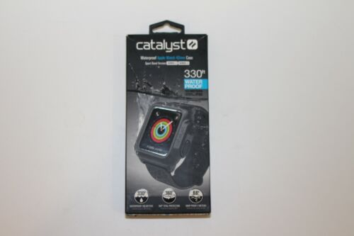 Catalyst Waterproof Case Apple Watch Sport Band Series 2/3 42mm Black OPEN BOX