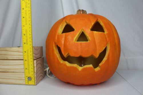 Vintage Halloween Trendmasters 1993 Foam Blow Mold Jack O Lantern Pumpkin
