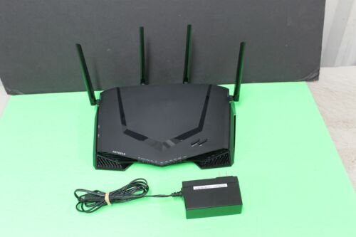 NETGEAR XR500-100NAS 4 Port Gaming Router (XR500100NAS) Works Great!