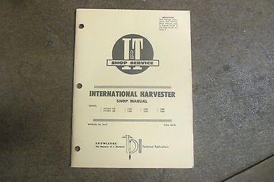 International Harvester Hydro 100 H 186 1466 1486 1566 1586 I T Repair Manual