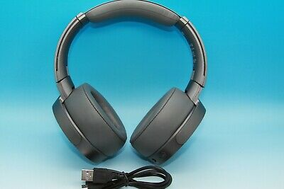 Sony MDR-XB950N1 Extra Bass Wireless Bluetooth Noise Cancelling Headphones GREY.