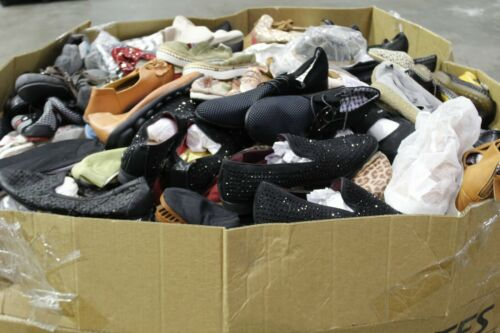 Huge Pallet Wholesale Lot Mens/Womens Casual/Dress Shoes Asst Brand/Style & Size