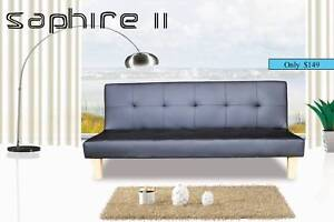 $$ FREE METRO DELIVERY $$  BRAND NEW PU LEATHER SOFA BED