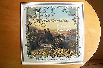 HUBERTUSMESSE - REINHOLD STIEF - JAGDHORNBLÄSERKREIS HEIDELBERG - LP