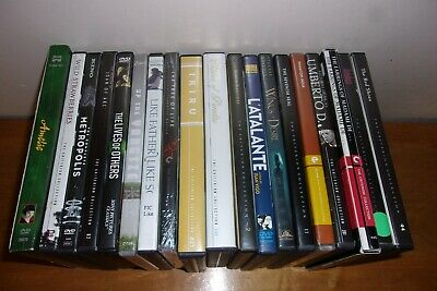 Lot of (19) Classic Foreign Films //criterion, eclipse, kino