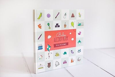 Baby Record Book for Same Sex / Gay / Lesbian, Adoption, Step and Foster Parents
