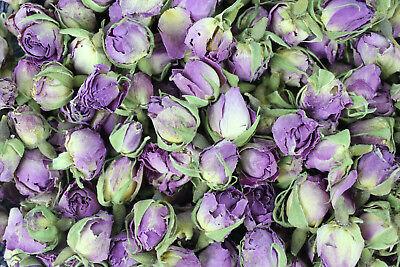 üten Knospen lila ganz 100 g (Lila Rosenblüten)