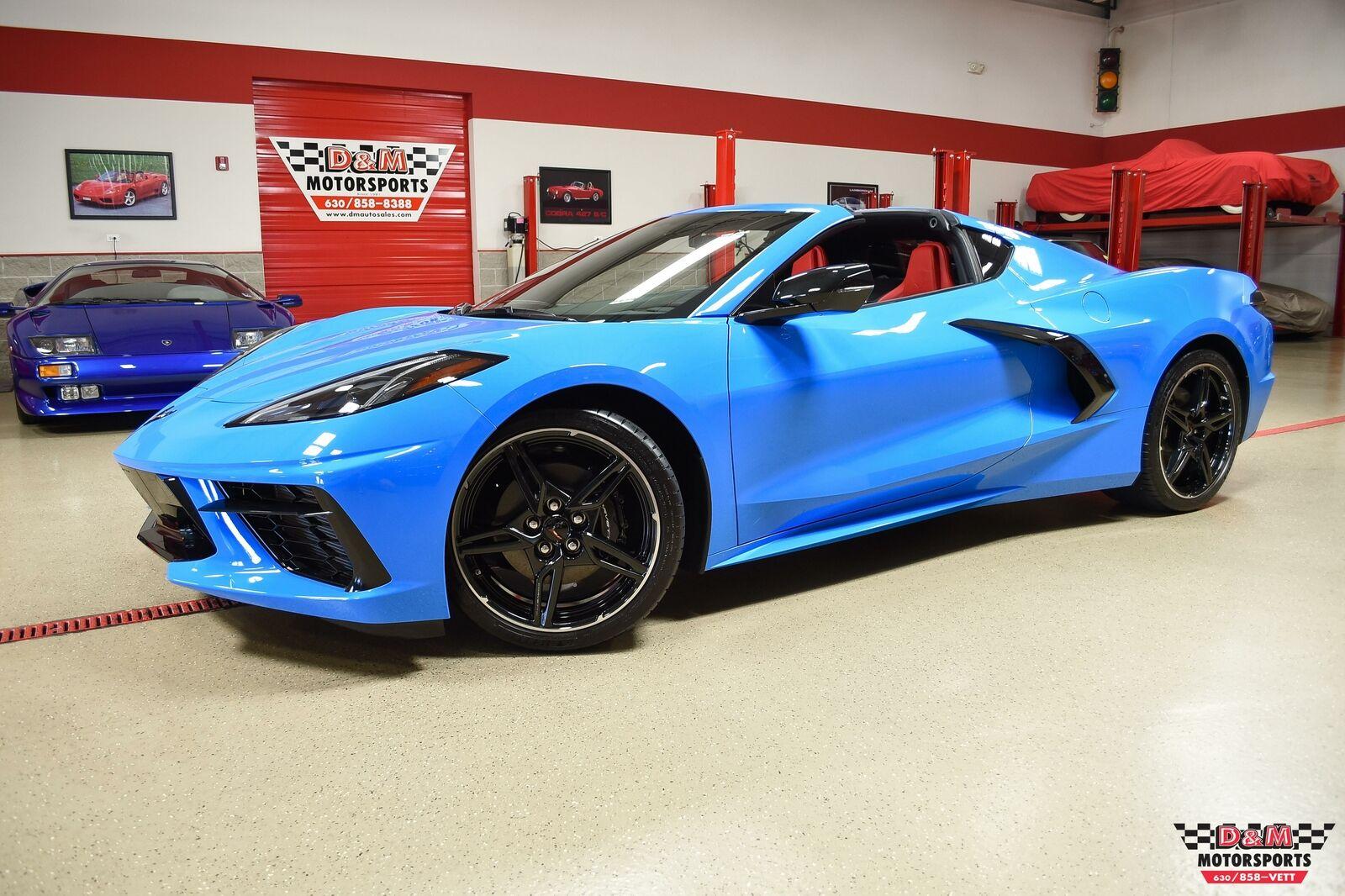 2020 Blue Chevrolet Corvette Stingray  | C7 Corvette Photo 1
