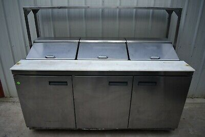 2016 Delfield 4472n-18-m638 72 Refrigerated Prep Table