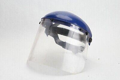 Crews Ratchet Takeup Headgear Face Shield - Ratchet Adjustable Suspension