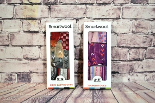 NWT TODDLER BABY SMARTWOOL 2 COLORS 3 PAIRS MERINO WOOL CHOOSE SIZE