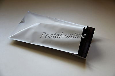5 x WHITE Plastic Mailing Bags Courier Delivery Poly Pouches Sack Post 10x14 5x