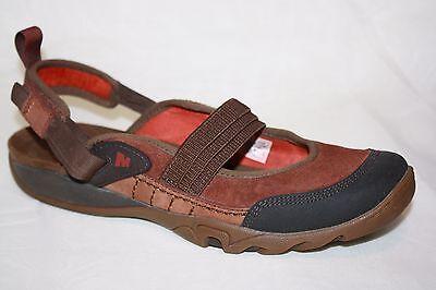 Merrell Mimosa Ginger Tortoise Shell Slingbacks Mary janes Sandal Shoes Womens 7