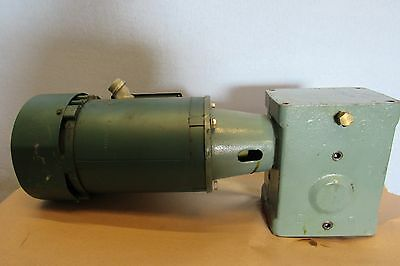 Reliance Electric Motor P56h7314ga 1hp Rh Wgear Box Reducer 4ac 20-1rh