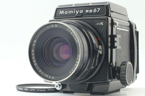 【NERA MINT+】 Mamiya RB67 Pro S Film Camera + Sekor NB 90mm f3.8 Lens From JAPAN