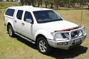 2012 Nissan Navara D40 Series 5 ST-X 550 Utility Dual Cab Merrimac Gold Coast City Preview