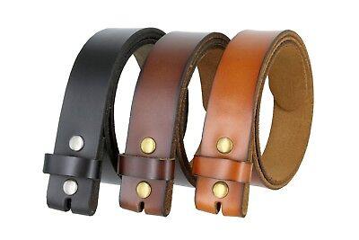 - Genuine Leather Belt Strap Casual Belt Snap 1-1/2