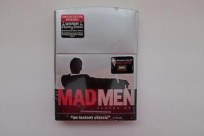 MAD MEN First 1 Season One DVD 4disc LIMITED EDITION metal ZIPPO lighter box set Mad Men Light