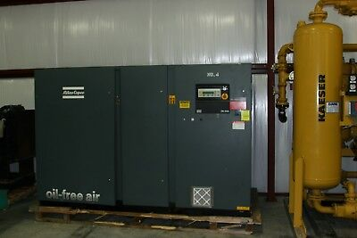 Atlas Copco Zr250 300-hp Oil Free Air Compressor