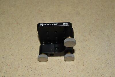 Jm New Focus 9806 Blank Plate Optic Mount B2