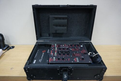 PIONEER DJM-400 MIXER RANE SERATO SL1 SCRATCH LIVE INTERFACE WITH CASE