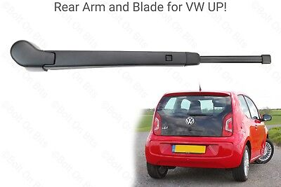 Rear Wiper Arm and Blade VW Up! 1.0 Take Move High Black models 3/5 door