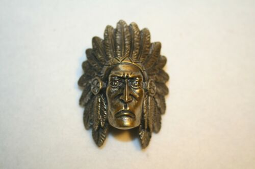Boy Scouts of America Indian Head Metal Neckerchief Slide