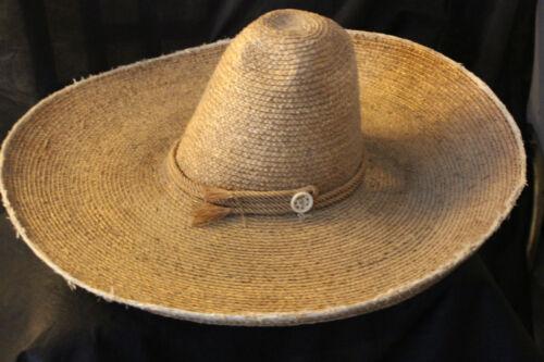 High Crown Antique Mexican Sombrero Vintage Revolutionary Era Period