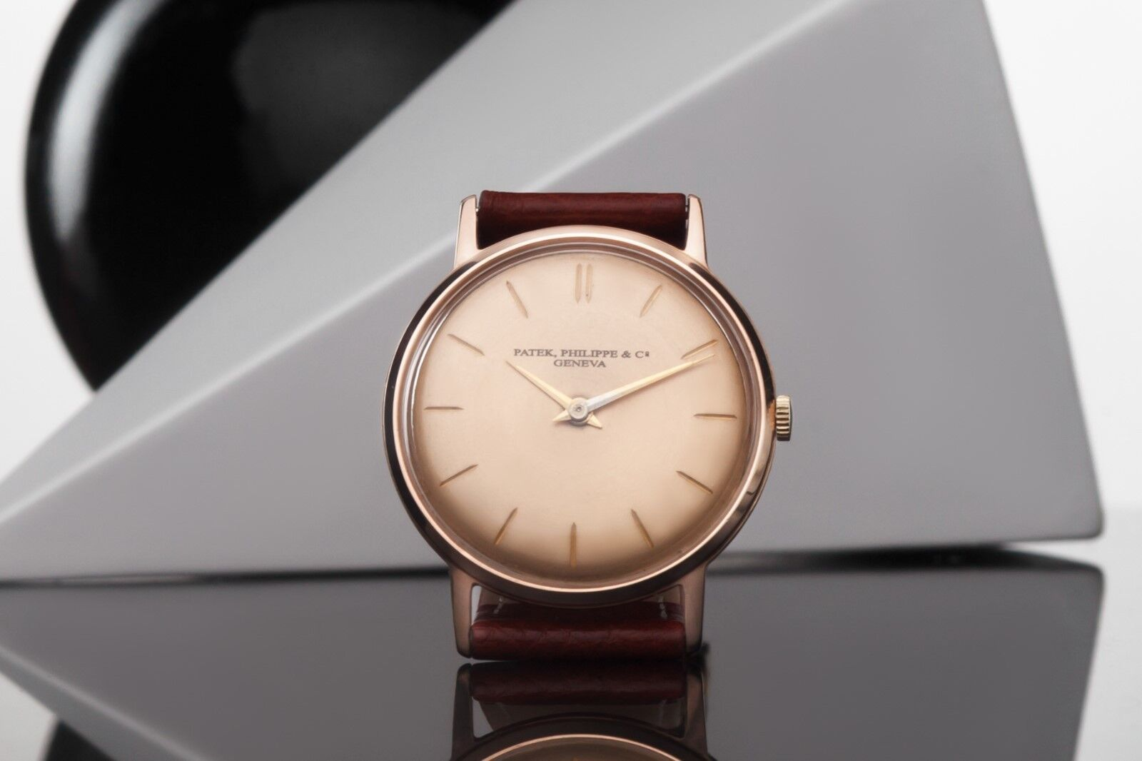 Antique Patek Philippe & Co Solid Gold Wrist Watch 14k Case - watch picture 1