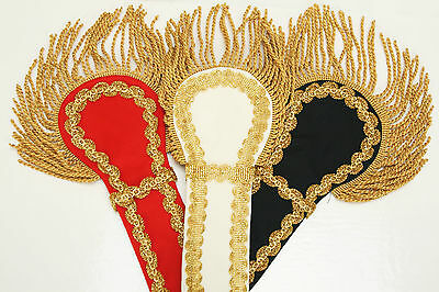 Schulterklappen Epauletten Schulterstück Gehrock Karnevalskostüm Karneval 3 - Schulterklappen Kostüm