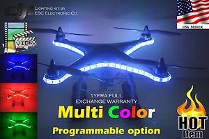 DJI-PHANTOM-Multi-Color-UFO-Light-kit-44-key-IR-Remote-Controller
