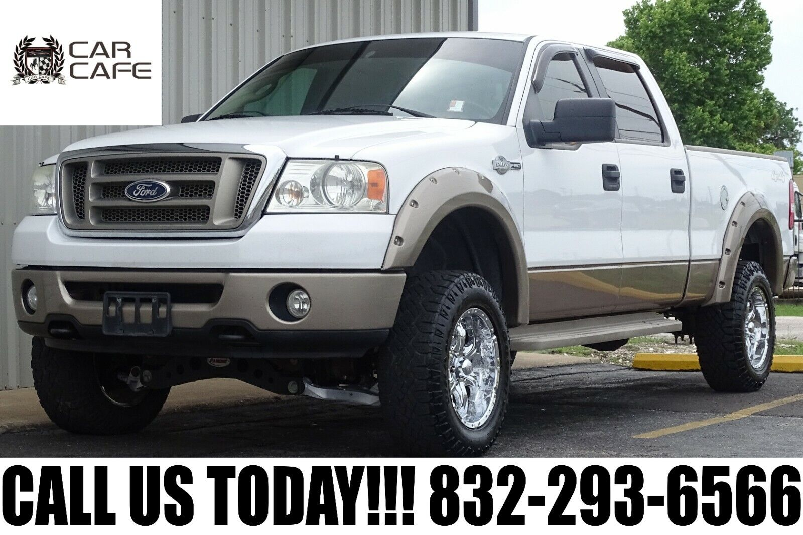 06 FORD F150 KING RANCH 6.5 BED 4X4 ACCIDENT FREE LIFTED SUSPENSION DUAL EXHAUST